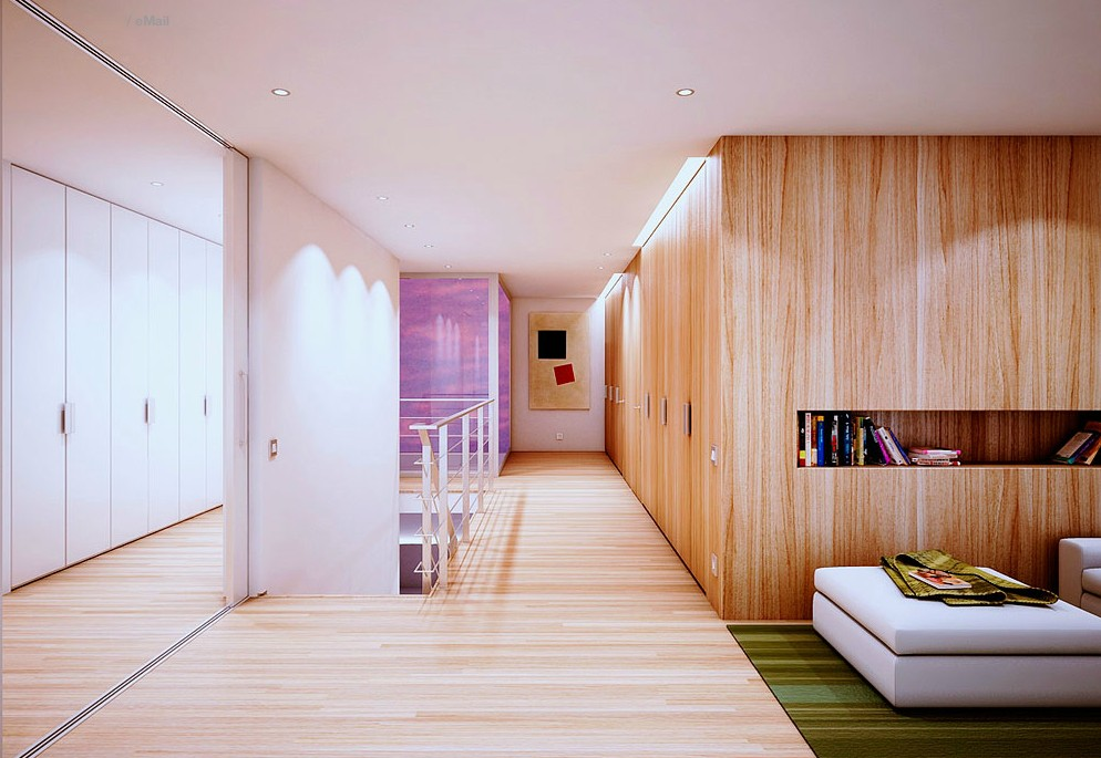 Wooden interior design Wooden interior
