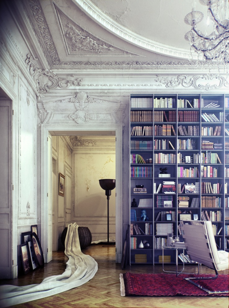 Library inspiration for Home decor inspiration