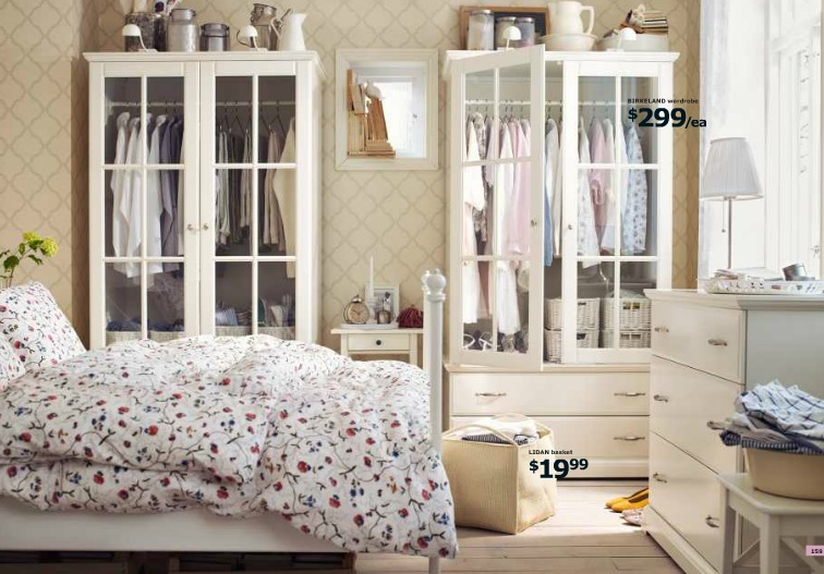 Ikea Country Bedroom Interior Design Ideas