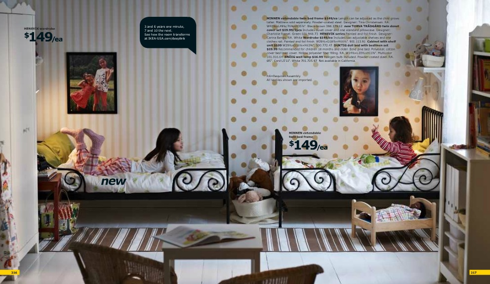 Ikea Kids Shared Room Interior Design Ideas New Usa Interior Design Ideas