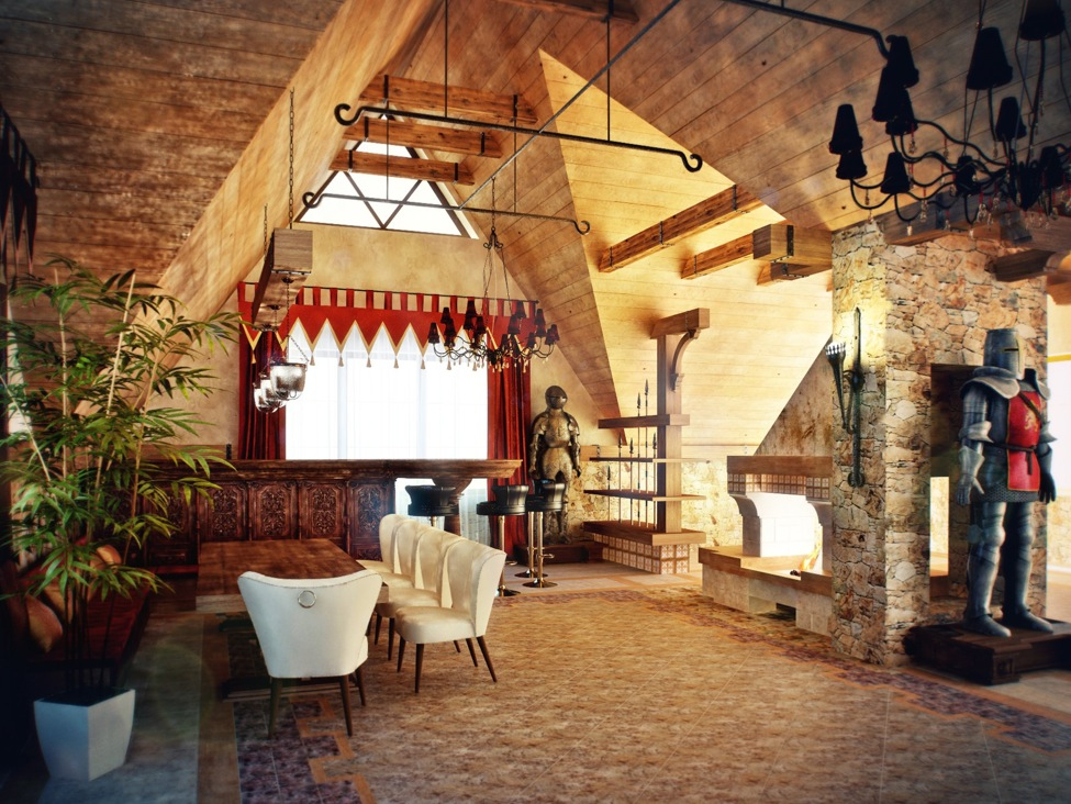 Medieval Living Room Decor Ideas