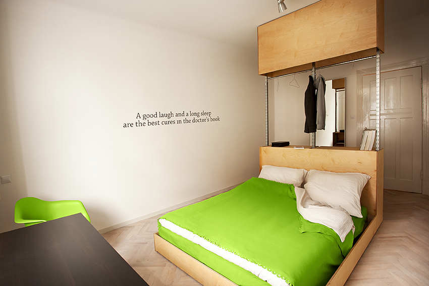 Cute little apartment in poland for Cute hotel rooms