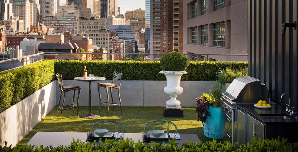 rooftop patio interior design ideas