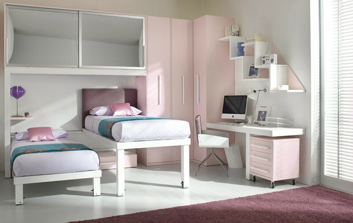 Small Room Loft Bed for Kids 699 x 441