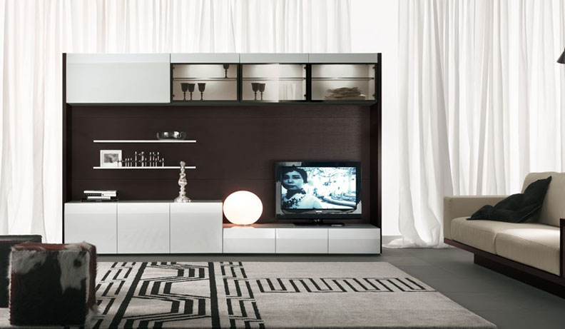 modern tv wall units - Designs For Pictures On A Wall