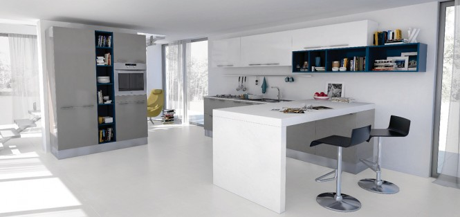 white and blue kitchen7