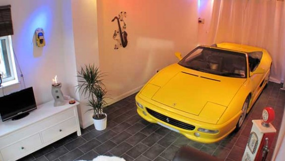 Cars Parked Inside Homes: Pretty or Pretty Weird?