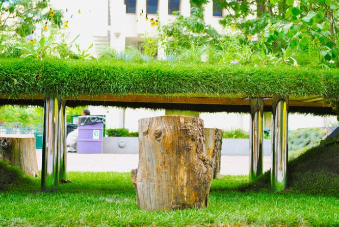 Denver Eco Office Tree Stump Chair