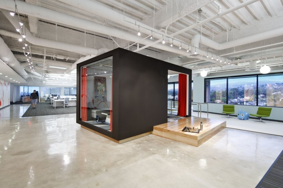 Dreamhost office for Cube interiors