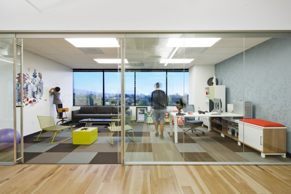 Dreamhost office for Modern office space layout
