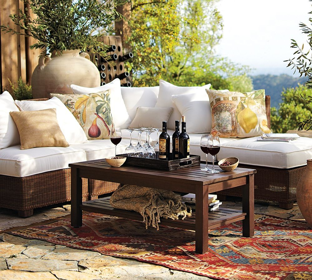 Outdoor Garden Furniture fy Rustic Yet Refined Style Sweet Home Designs
