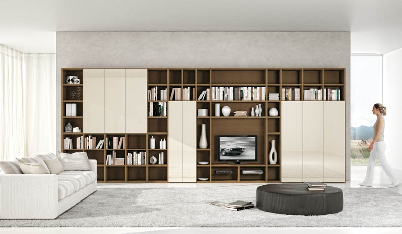 Shelving units for Modern living room shelving units