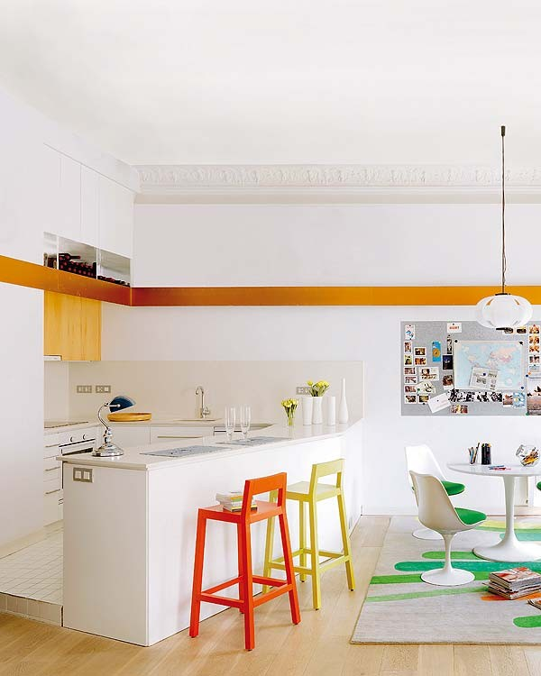 barcelona house kitchen