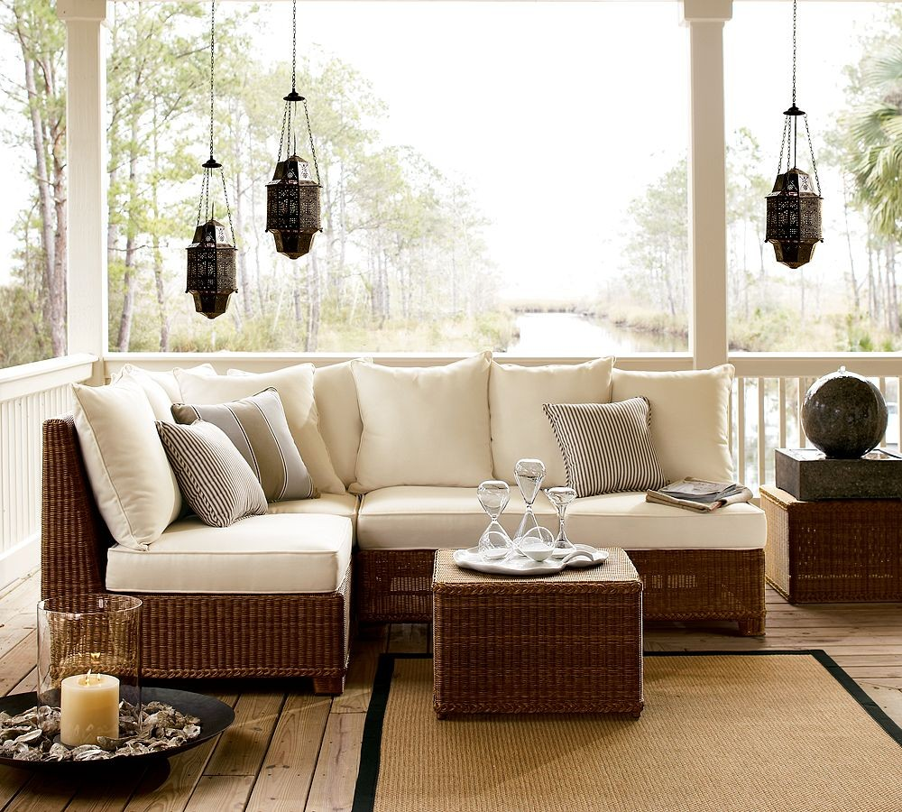 Outdoor Patio Furniture For Small Deck: Outdoor Garden Furniture By Pottery Barn