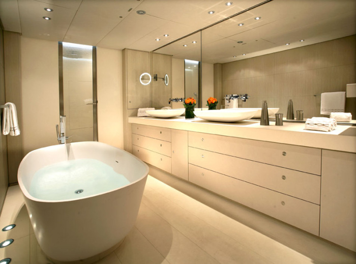 Red Dragon Yacht Bathroom Interior Design Ideas