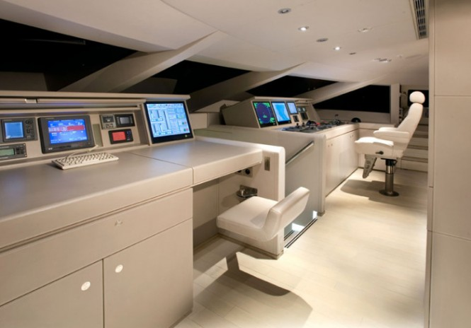 Even the main operating area is sleek, stylish, and modern.