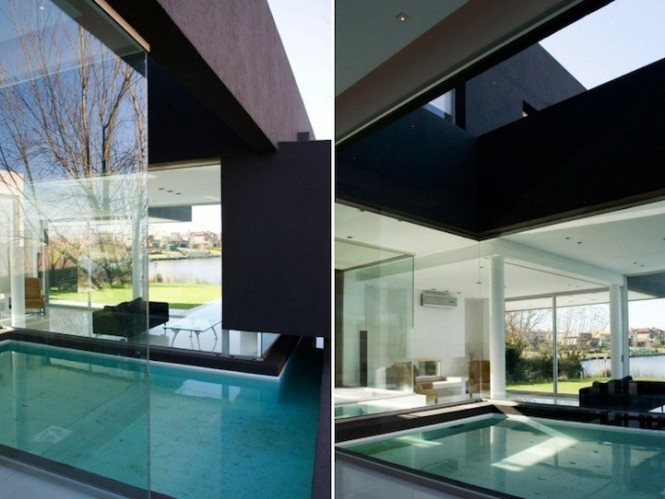 remy black house pool interiors