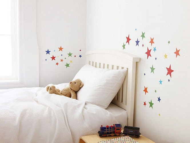 wall sticker stars kids room