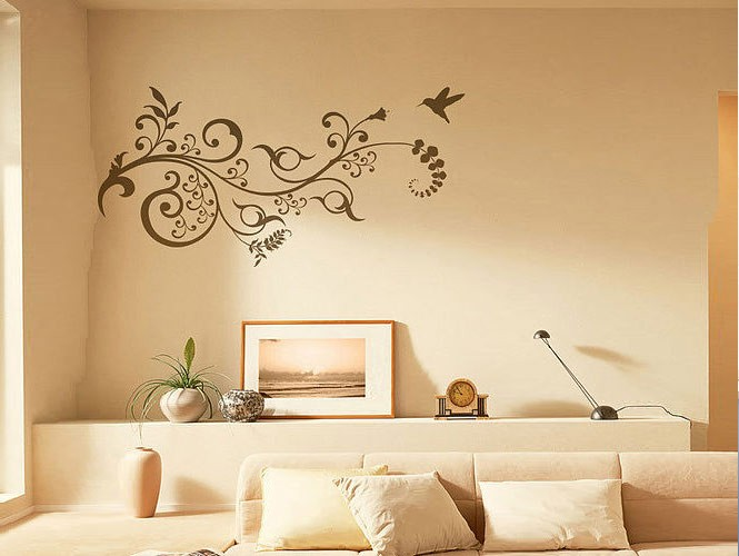 Wall stickers that lend a personal touch for Stickers de pared