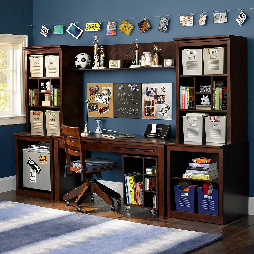 glass small desk wooden teenage teen hanging plus harmonious attic transparent pleasurable design amusing boys bedroom ideas winsome here cool inspiring designs computer are blue of study skylight bed featuring with boy