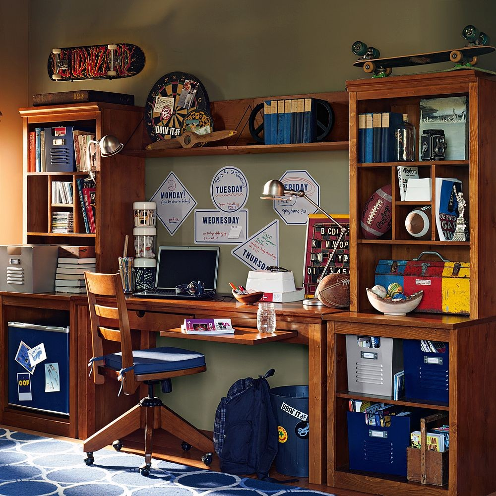 Study space inspiration for teens - Study room furniture designe ...