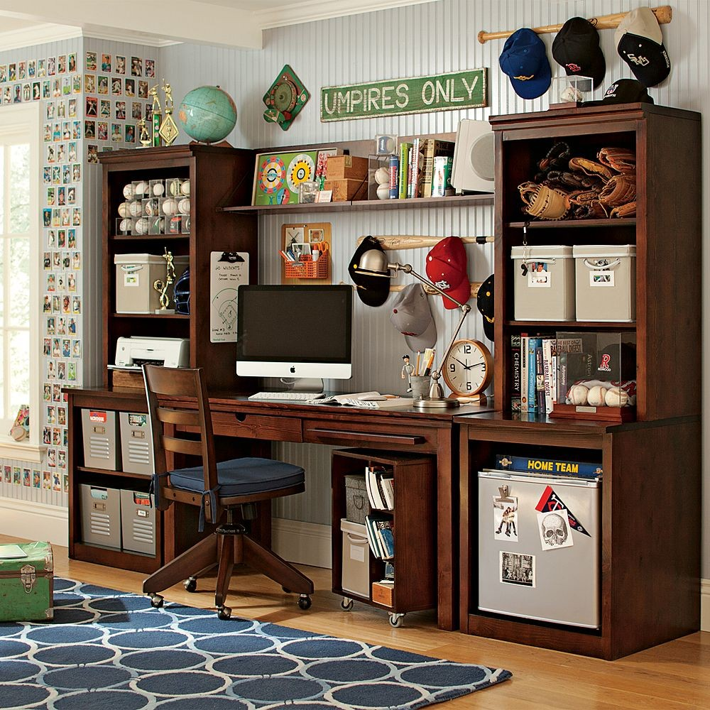 Boy Bedroom with Study Desk