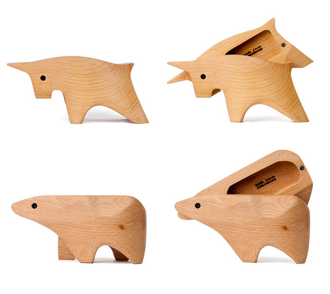 Bull And Bear Wood Boxes on Teen Bedroom Furniture Design