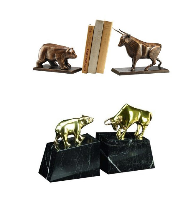 bull-bear-bookend