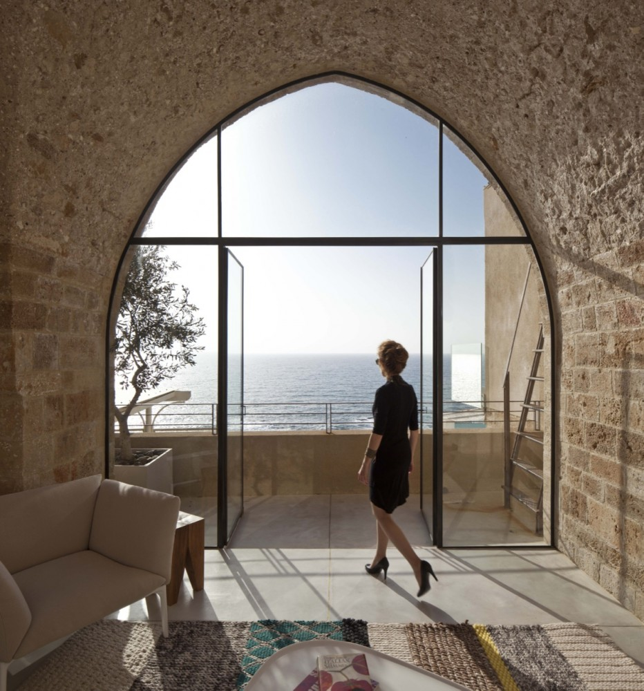 The old and new jaffa apartment for Window design arch