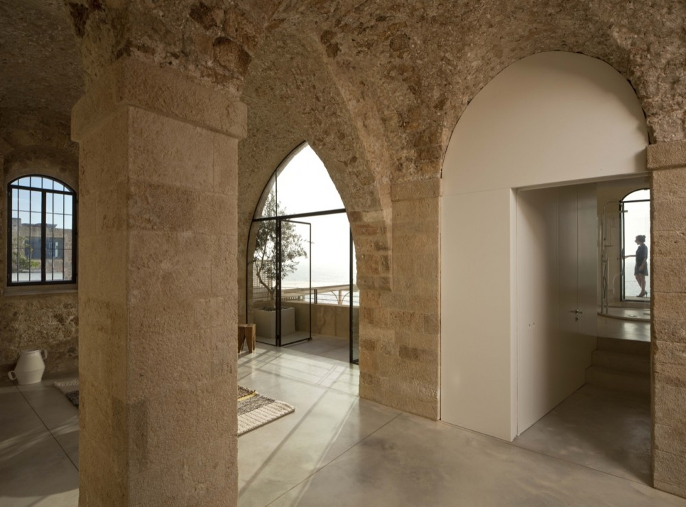 The old and new jaffa apartment for Home arch design
