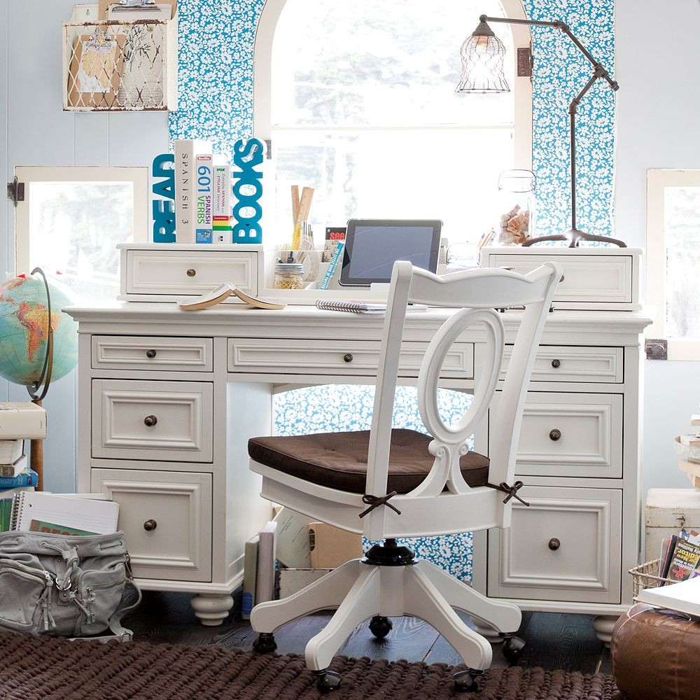 Study space inspiration for teens - Bedroom desk chair ...