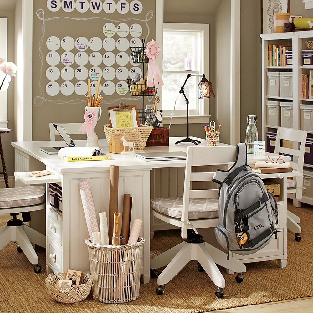 Study Space Inspiration For Teens: study room ideas