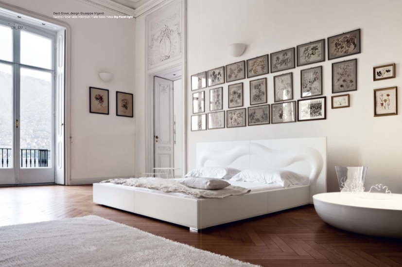 Luxury white bedroom interior design ideas for Bedroom designs white