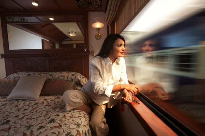 maharaja express train bedroom
