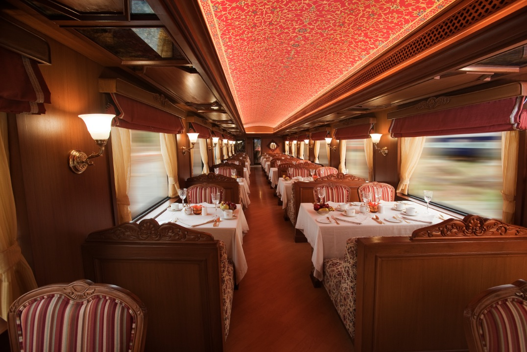 Maharajas Express A Luxury Train In India