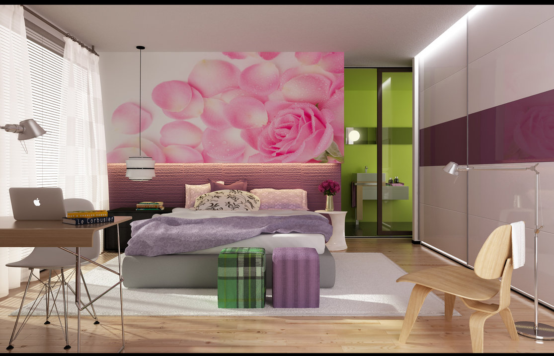 Latest Bedroom Colors Modern Colorful Bedrooms