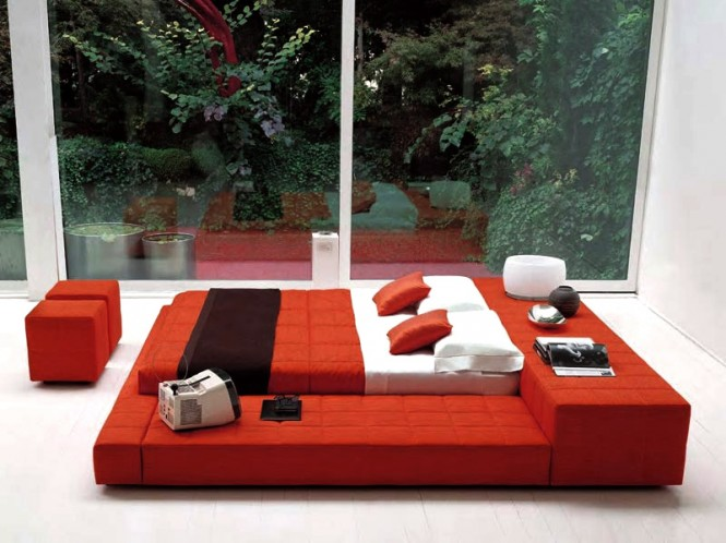 The design is by Italian company Bonaldo, which likes to combine true Italian style with modern, contemporary trends.