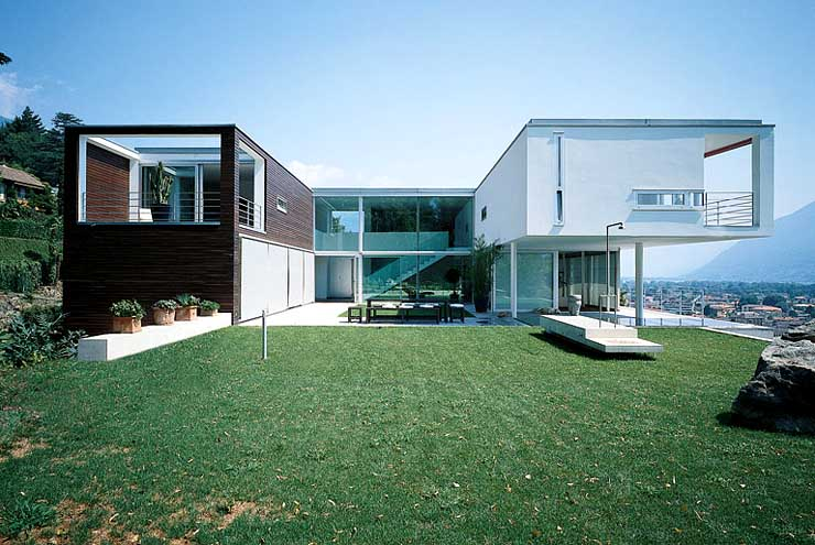 Swiss House Cubes Modern