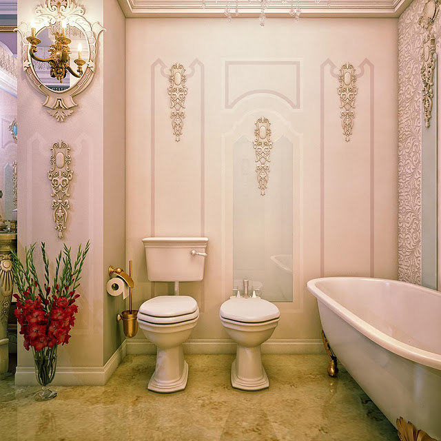 jaw droppingly gorgeous bathrooms that combine vintage