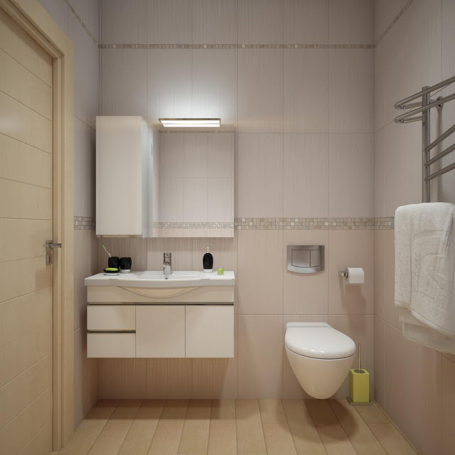 Simple and Practical Bathroom