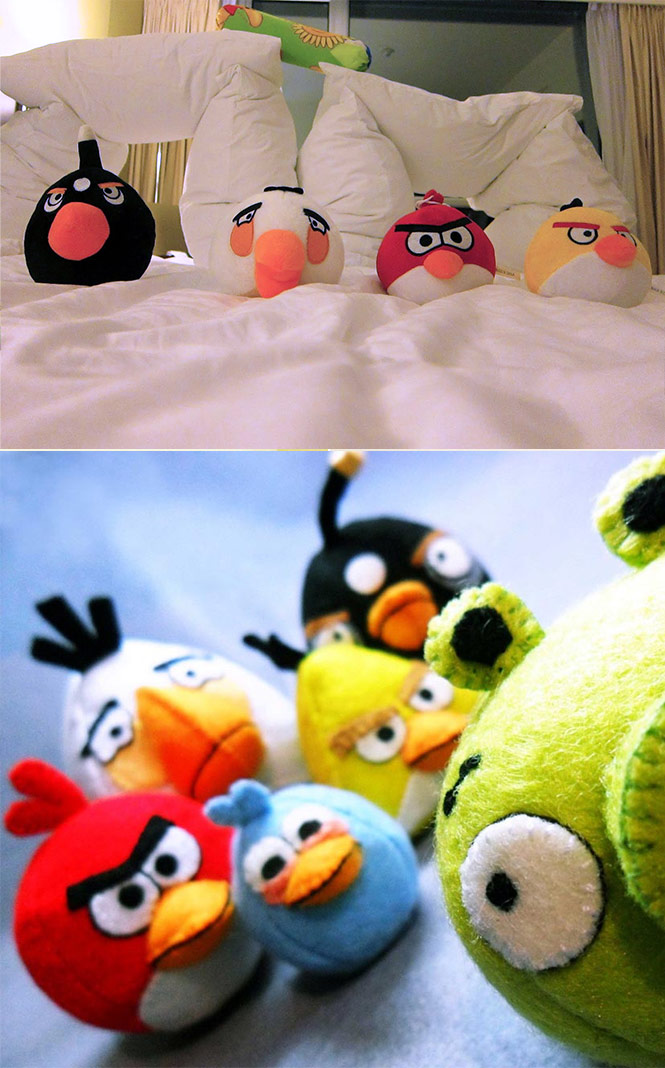 Angry birds inspired accessories for your home - Angry birds big brother plush ...