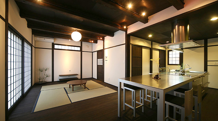 Modern japanese kitchens for Japanese kitchen designs
