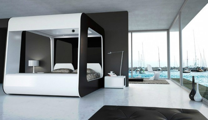 luxury-bed-television