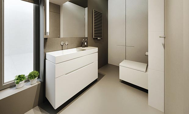 Modern Minimal Bathroom
