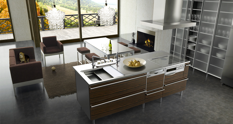 Modern japanese kitchens for Kenya kitchen designs