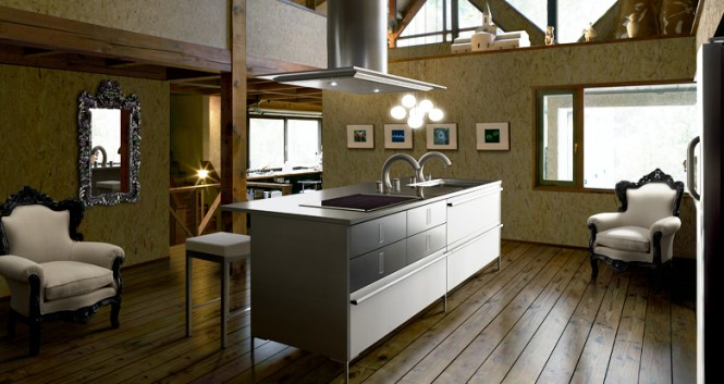 modern japanese kitchens