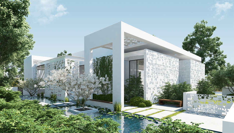 Garden landscape design inspiration for Pool garden house