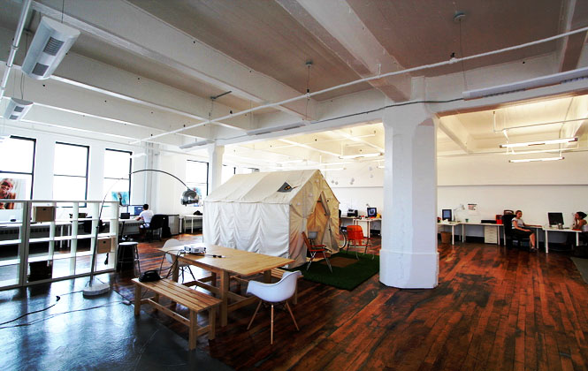 Inspiring coworking spaces Coworking space design ideas