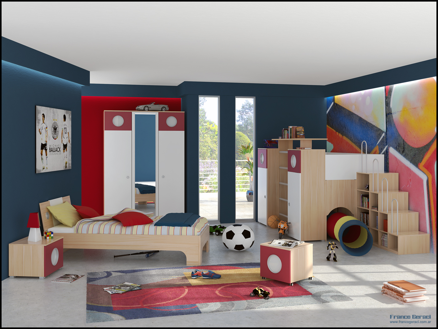 Kids room inspiration for Interior design layout inspiration