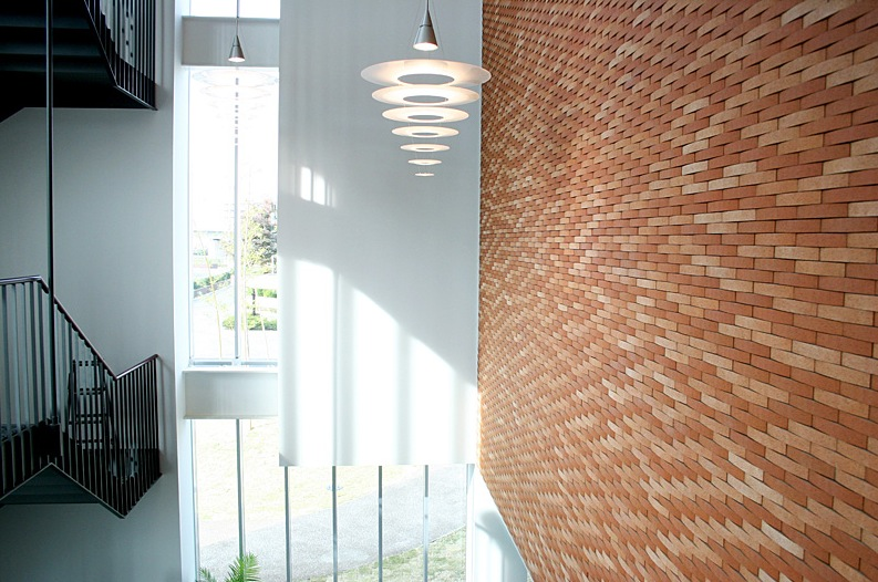 like architecture interior design follow us - Brick Design Wall